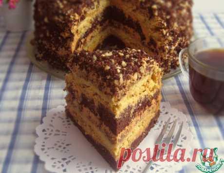 Торт шоколадно-ореховый – кулинарный рецепт