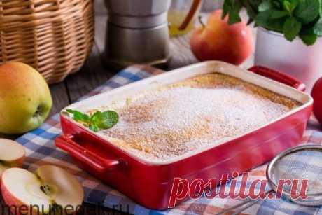 Рецепт тыквенно-яблочного пудинга