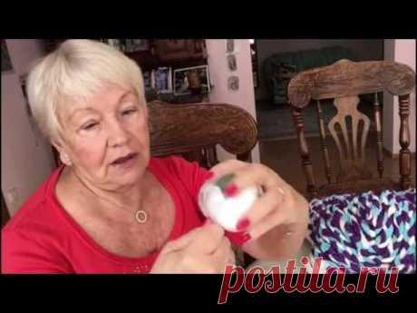 'Живой' мячик для кошечки из ненужных вещей