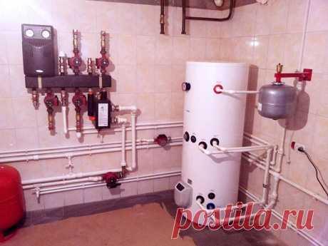 Водяное отопление деревянного пола частного дома своими руками фото 957