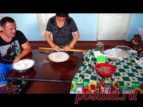 Узбекистан.Настоящая домашняя чучвара.