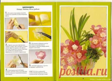 """""""Изысканные цветы из овощей"""". Кулинарная книга."""