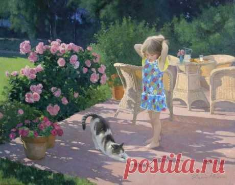 Дети и животные на картинах Татьяны Дерий – Клуб любознательных, пользователь Не в пирогах счастье   Группы Мой Мир