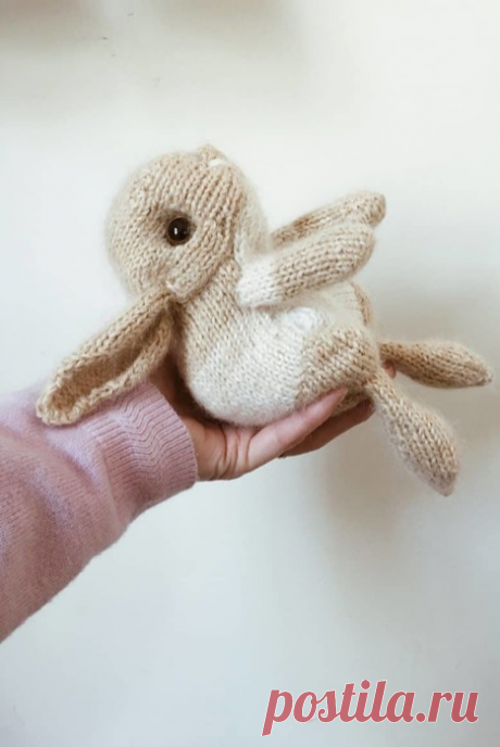 Easter Bunny by Claire Garland.