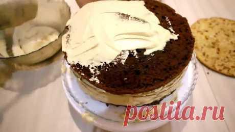 Нежный,вкусный торт/Королевский торт..Дамский каприз