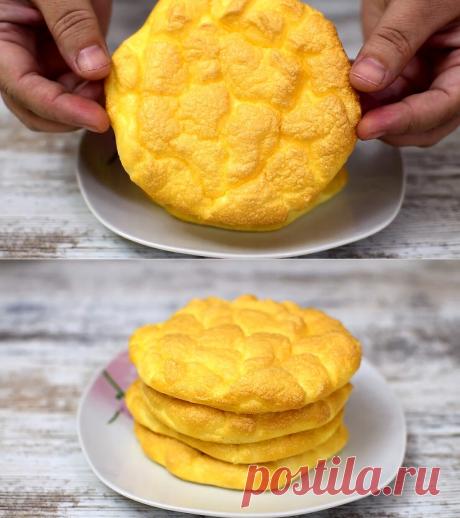 ОБЛАКО в духовке. 4 яйца и завтрак готов. | Ох и вкусно | Яндекс Дзен