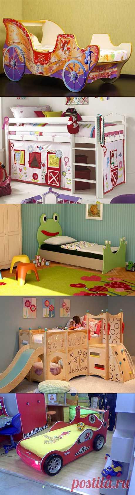 Оригинальный дизайн детских кроваток.