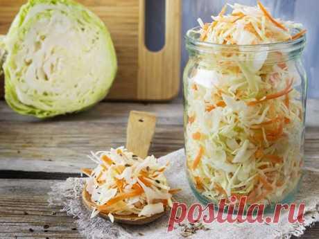 Какая же зима без квашеной капусты?!! 6 вкусных рецептов — Едим дома