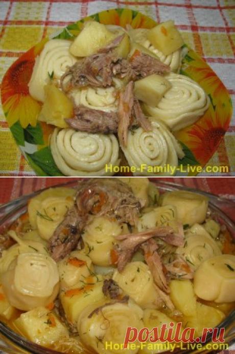 Штрули с курицей/Сайт с пошаговыми рецептами с фото для тех кто любит готовить