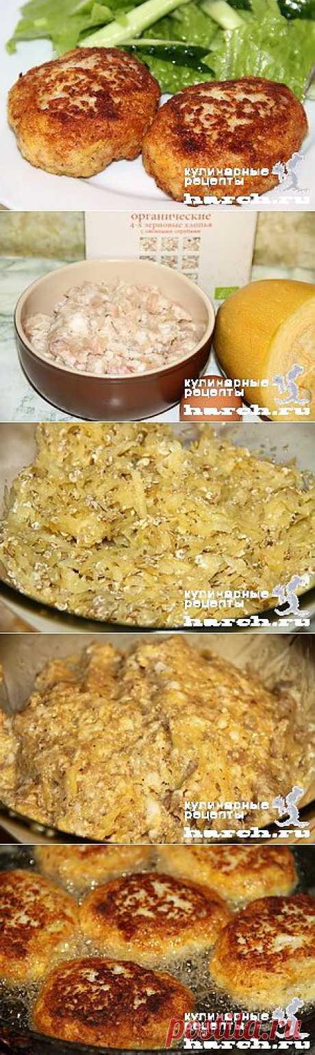Мясные котлеты с овсянкой и кабачками | Харч.ру - рецепты для любителей вкусно поесть