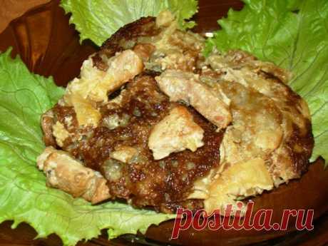 Бандуряники с мясом