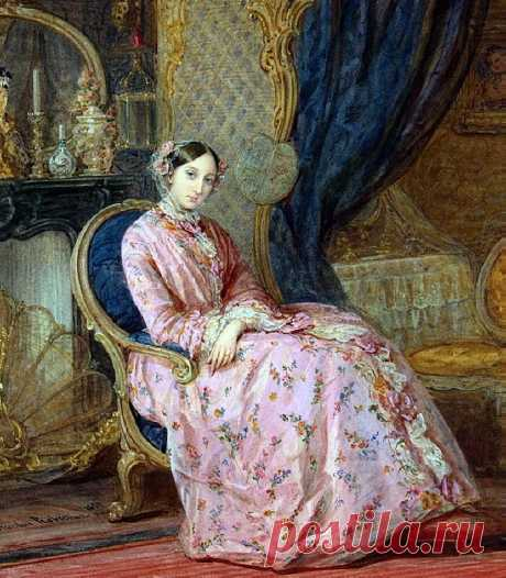 Robertson Christina Портрет княжны Марии Александровны - 1851.