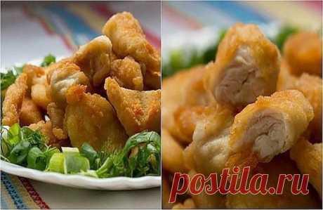 Как приготовить наггетсы из курицы - рецепт, ингредиенты и фотографии