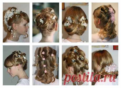 детские причёски нарядные
