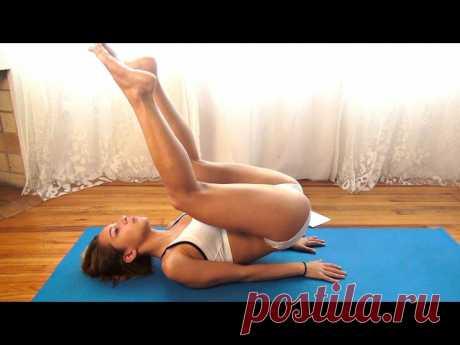 Видео-тренировки для плоского животика, красивой талии и упругого пресса