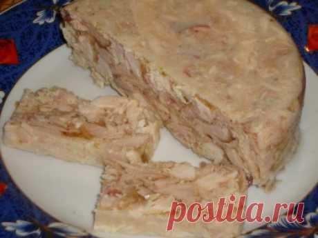 Очень вкусный куриный сальтисон от Лаком-ка. Мультиварка.