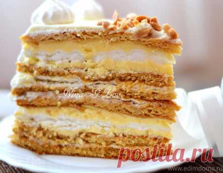 """Медовый торт """"Полет шмеля"""" или """"Мое сладкое утро!"""""""