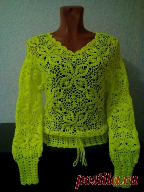 Летний пуловер.
