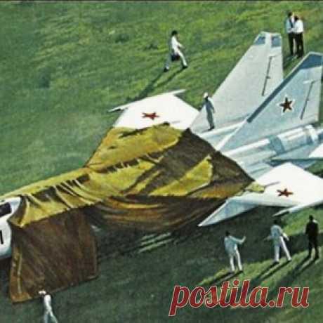 40 лет побегу на МиГ-25 Виктора Беленко