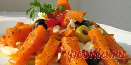 (+1) Салат из тыквы с вялеными помидорами : Салаты : Кулинария : Subscribe.Ru
