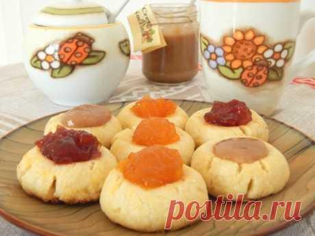 Печенье с вареньем — Sloosh – кулинарные рецепты