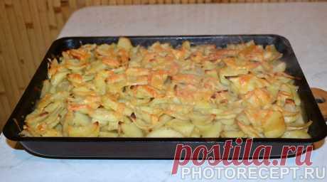 """Запеченная картошка """"по-министерски"""" - ресторанный рецепт"""
