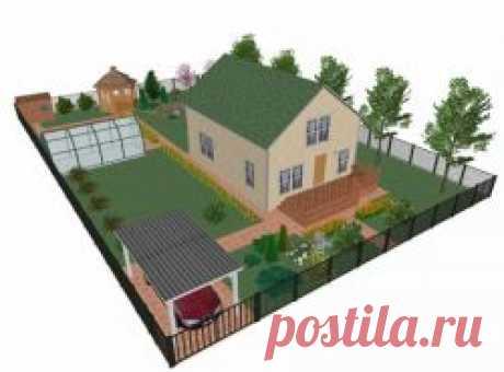Бесплатная онлайн программа для планировки и проектирования участка или дома