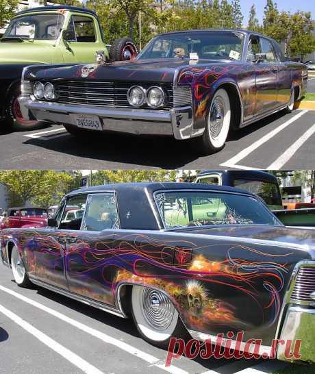 Lincoln Continental Custom Pinstriped 1964