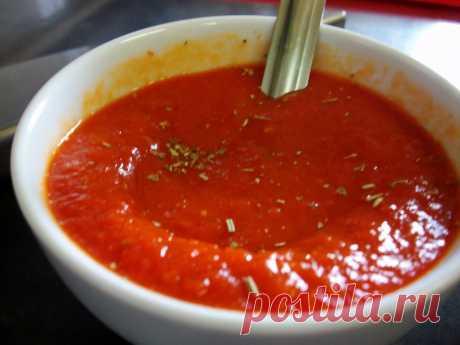 Томатный соус для пиццы и пасты (на зиму) » Женский Мир