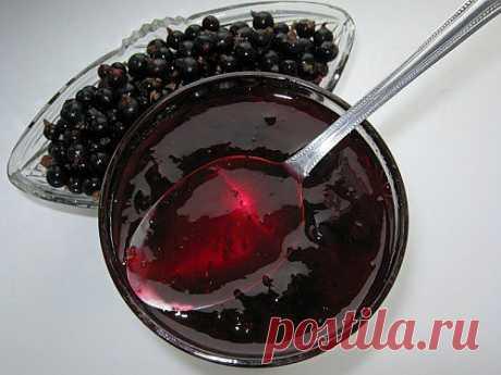 Варенье из черной смородины