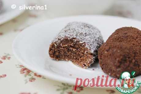 """Шоколадное пирожное """"Картошка"""" с халвой – кулинарный рецепт"""