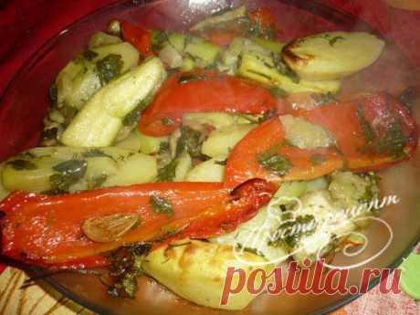 🍴 Овощи запеченные в рукаве в духовке рецепт с фото. Как приготовить овощи запеченные в пакете для запекания