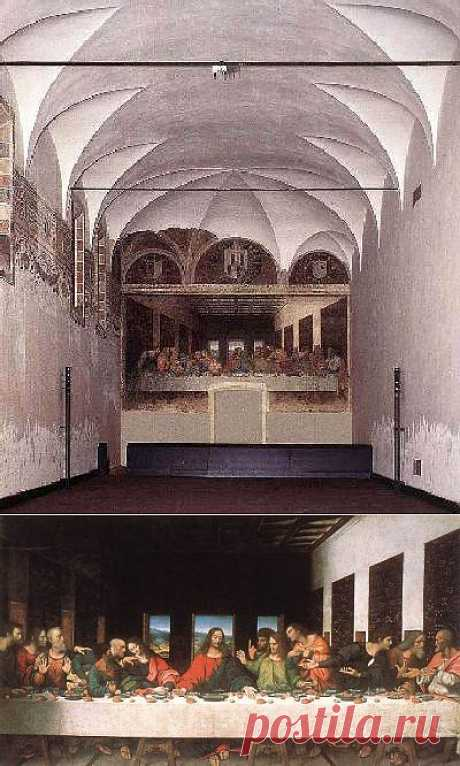 Рассказы о шедеврах - Леонардо да Винчи «Тайная вечеря»