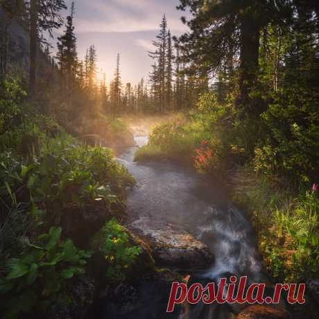 Природный парк Ергаки, Красноярский край. Автор фото: Александр Ра.
