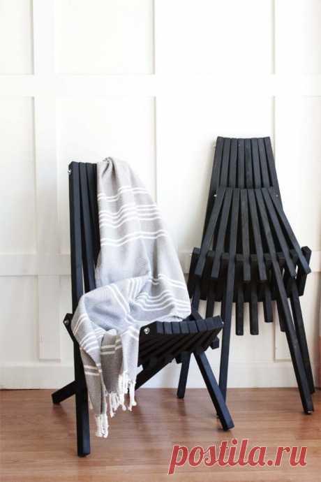 Футуристичные складные стулья DIY