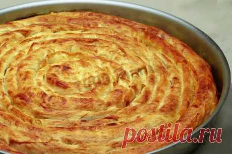 Турецкий бурек с мясной начинкой рецепт с фото пошагово и видео - 1000.menu