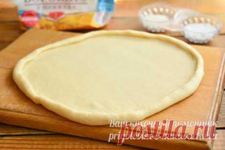 Тесто для пиццы: тонкое и мягкое как в пиццерии, рецепт с фото