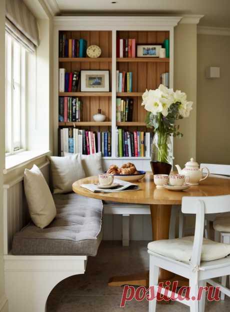20 самых красивых кухонных уголков — Roomble.com