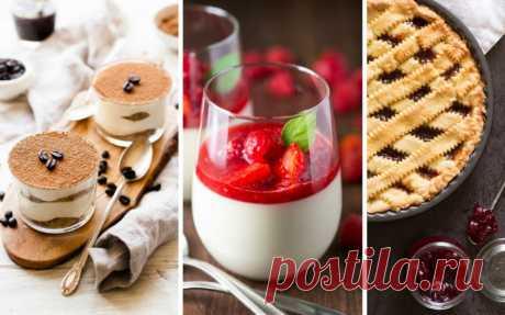 Итальянские десерты Italieonline