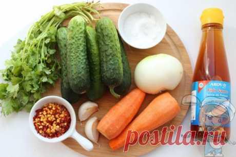 Огурцы кимчи по-корейски (ои собаги) — пошаговый рецепт с фото