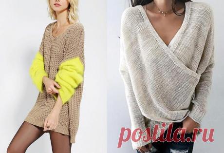 """Модные летние свитеры и из чего их связать - Блог интернет-магазина """"Мир Вышивки"""""""