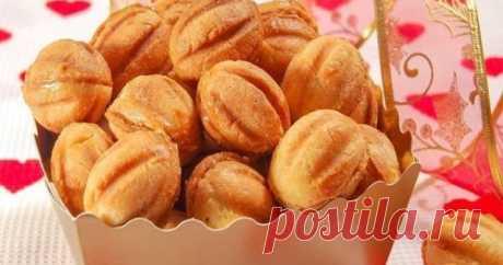 Тесто для песочных орешков, тех самых из детства — Калейдоскоп чудес