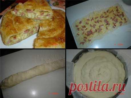 Как приготовить сырная улитка - рецепт, ингредиенты и фотографии
