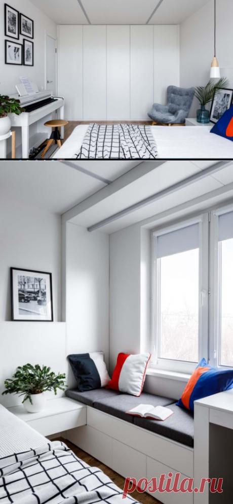 Преображение «однушки» в панельном доме