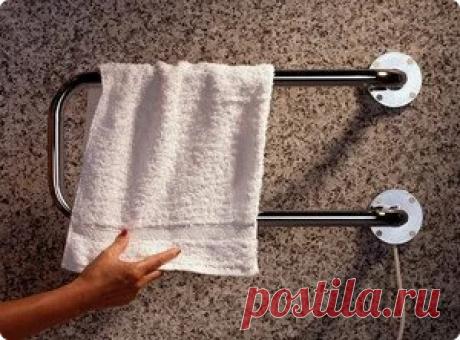 Если вы затеяли ремонт и хотели сушилку полотенец в ванной комнате переставить на другое место, вас ждет наказание в 2021 году   Советы по дому