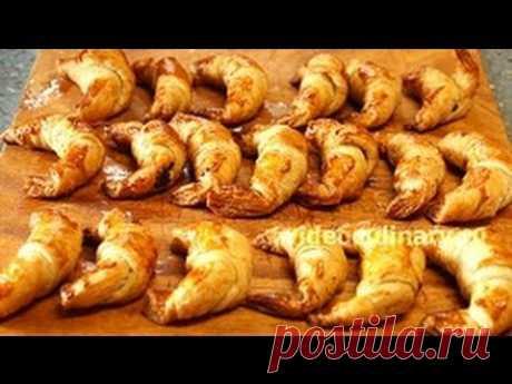 Рогалики слоёные с маком - Рецепт Бабушки Эммы