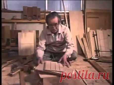 Как сделать мебель из дерева своими руками ручным инструментам в квартире.mp4 - YouTube