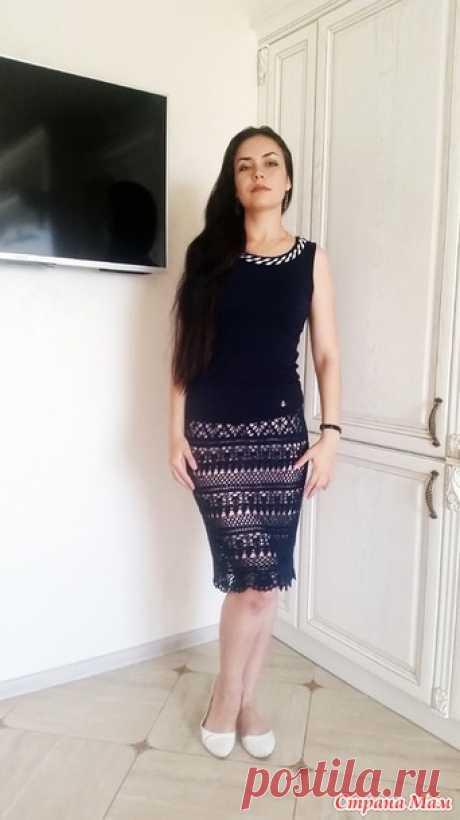 Потрясающая модель юбки от мастерицы из Страны МАМ.