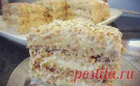 Вчера был день рождения дочки и я впервые решила сделать торт. У меня получилось! Египетский торт просто таял во рту! Гости в восторге! Ооочень вкусно.  Рецепт - https://siedim.zakyska.ru/rN2Bo
