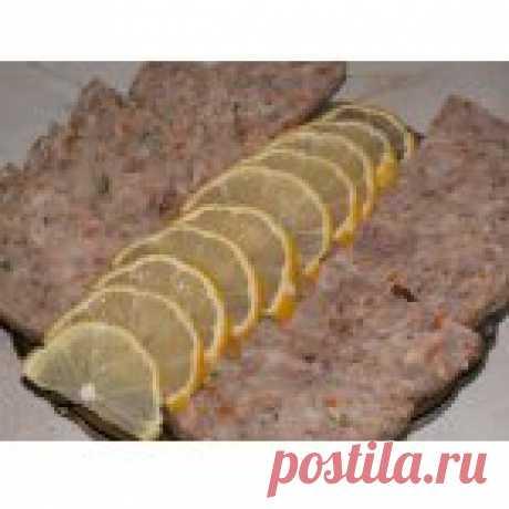 Мясной рулет Мулен Руж Кулинарный рецепт
